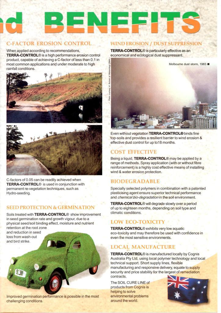 Terra Control Soil binder