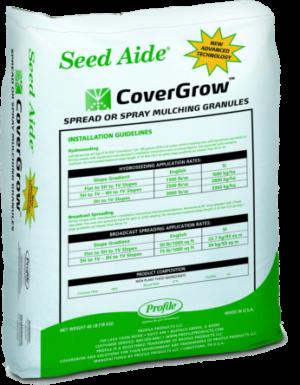 SeedAide_CoverGrow hydroseeding mulch