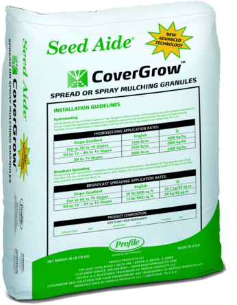 SeedAide_CoverGrow hydroseeding mulch