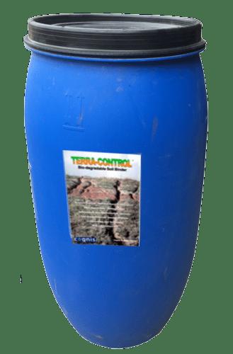 Hydroseeding terra control drum